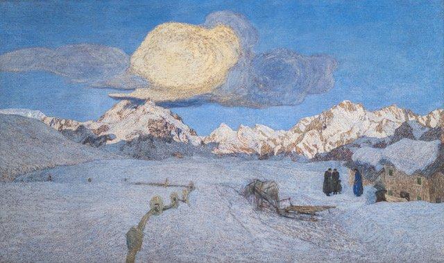 09-3. G. Segantini_La morte_1896-1899
